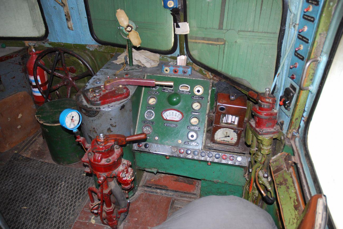 Пульт управления ТЭ2-226. 2010 год