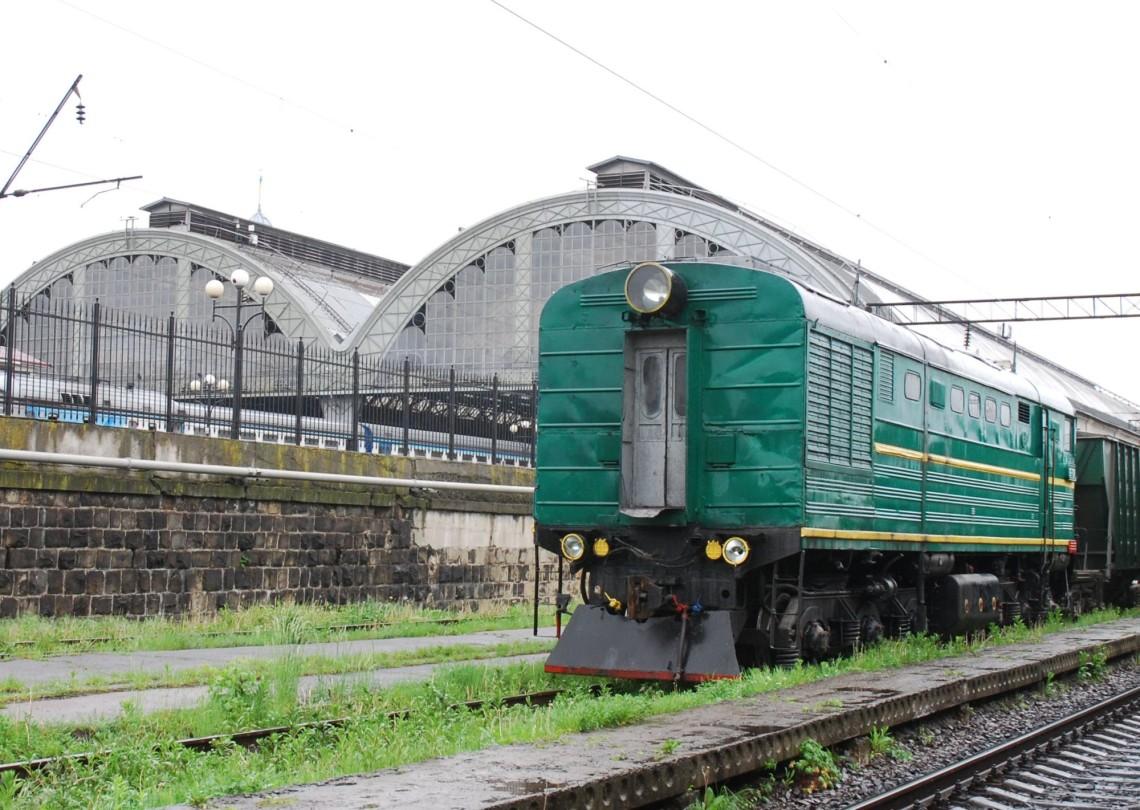 Вокзал Львів автор: Сергій Палієнко