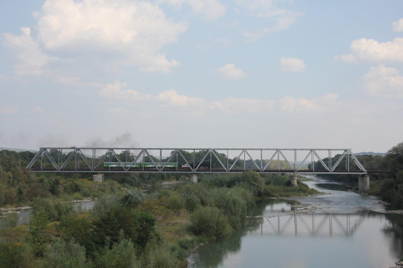 Ріка Прут у Чернівцях