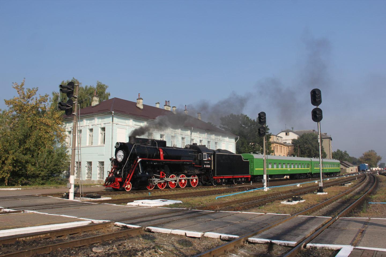 Прибуття святкового поїзда в Івано-Франківськ