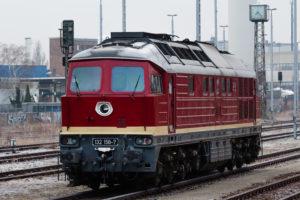 BR 132 im Bahnhof Marienfelde